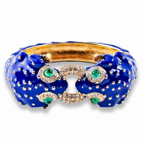 Enamel Frog Bracelet