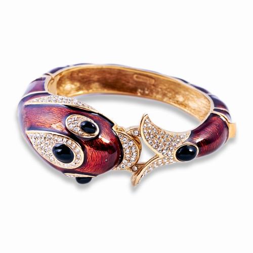 Enamel Dolphin Bracelet