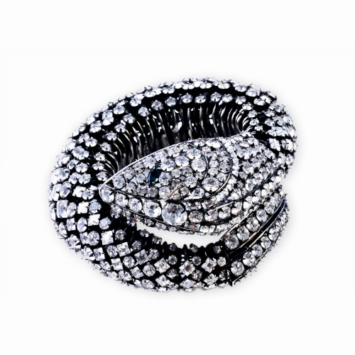 Crystal Snake Bracelet